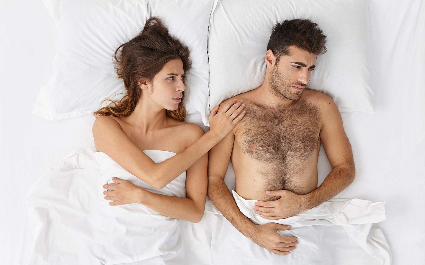 I have a partner who isn't as enthusiastic about sex. What do I do?