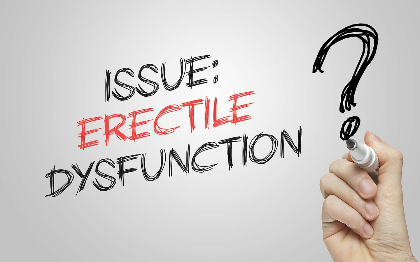 Dealing with erectile issues in your relationship