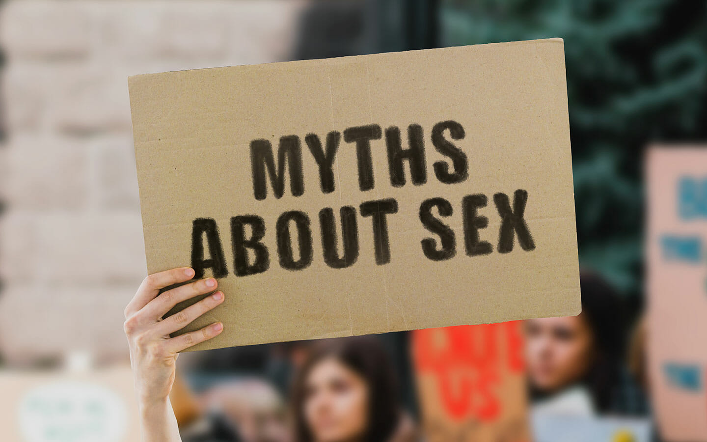 The biggest myths about sex