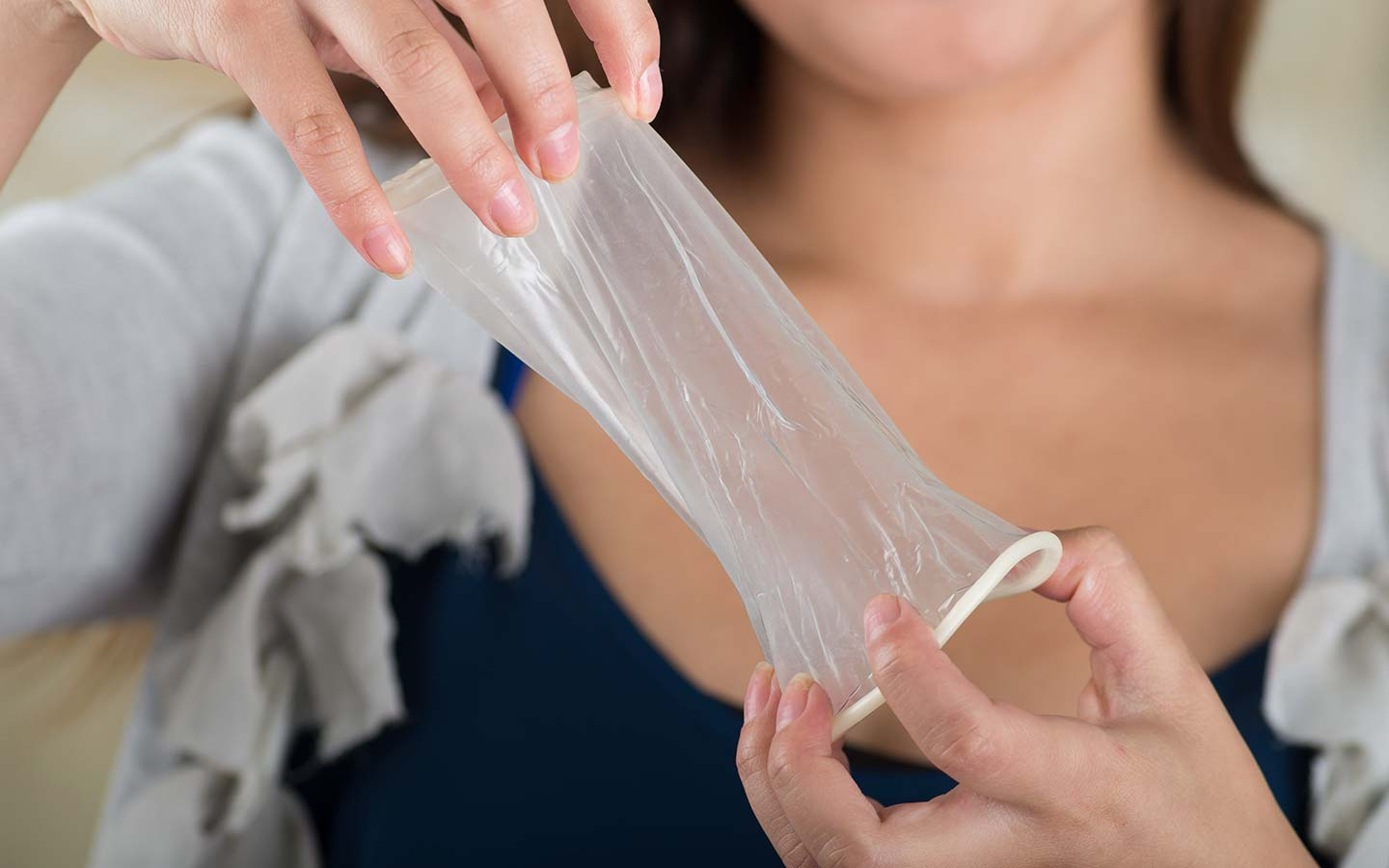 Some of the interesting ways to use a female condom